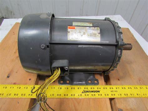 2hp Electric Motor by Dayton 3kw98 2hp Electric Motor 208 230 460v 3ph 1170rpm