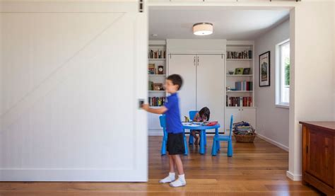 Kids Playrooms 50 ways to use interior sliding barn doors in your home