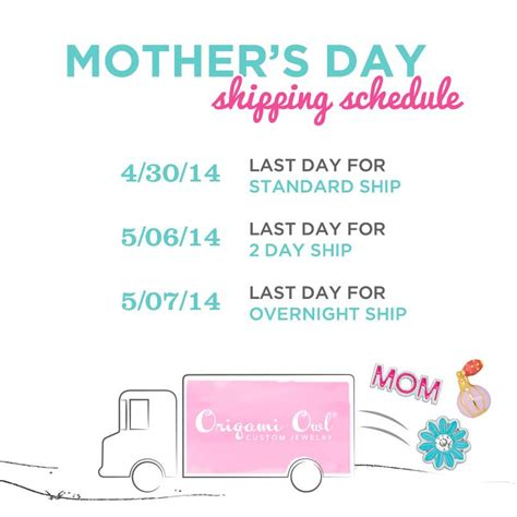 origami owl shipping the we origami owl mothers day 2014