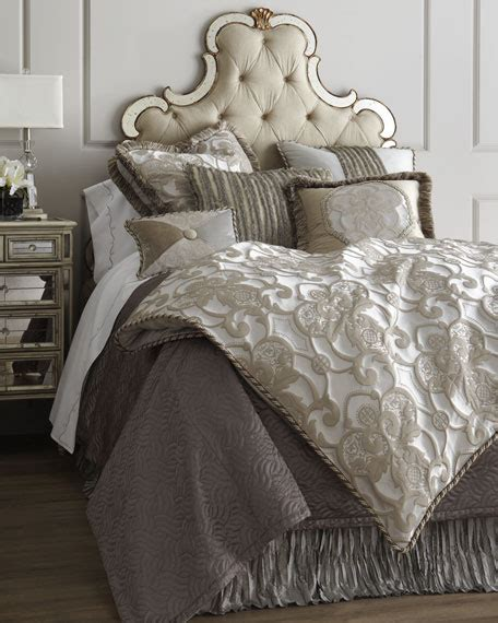 designer bedding dian couture home pewter bedding