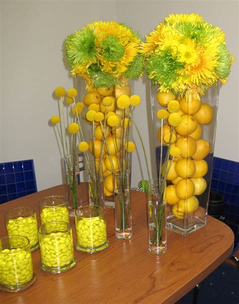 Green And Yellow Table Decorations by 17 Best Images About Yellow And Green Ideas On Pinterest