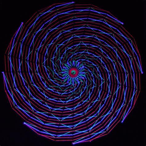 black light string spiral blacklight stringart by string on deviantart