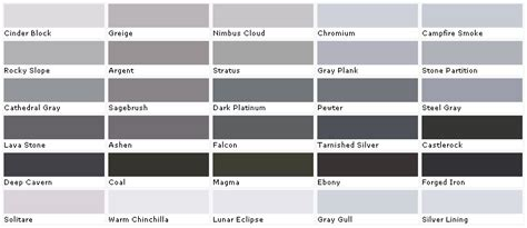 paint color names designed to the nines more gray paint color names