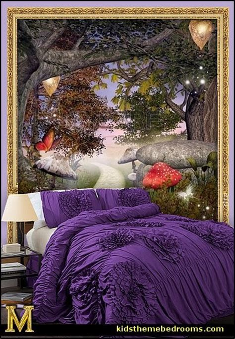 Enchanted Forest Wall Stickers decorating theme bedrooms maries manor fairy tinkerbell
