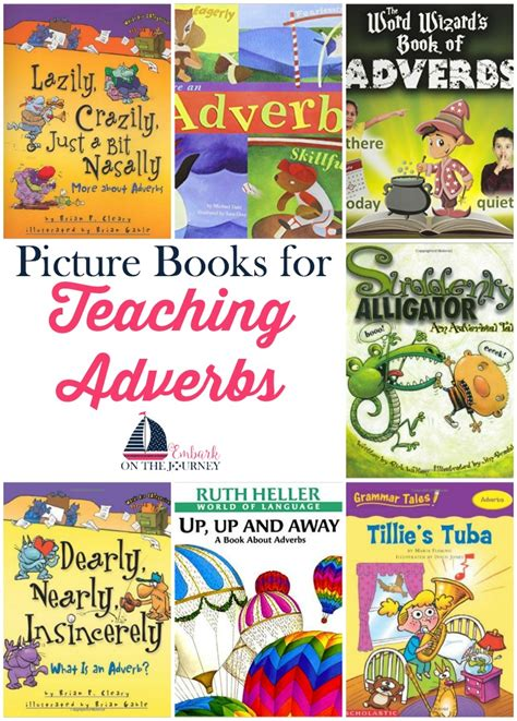using picture books to teach teaching adverbs with picture books