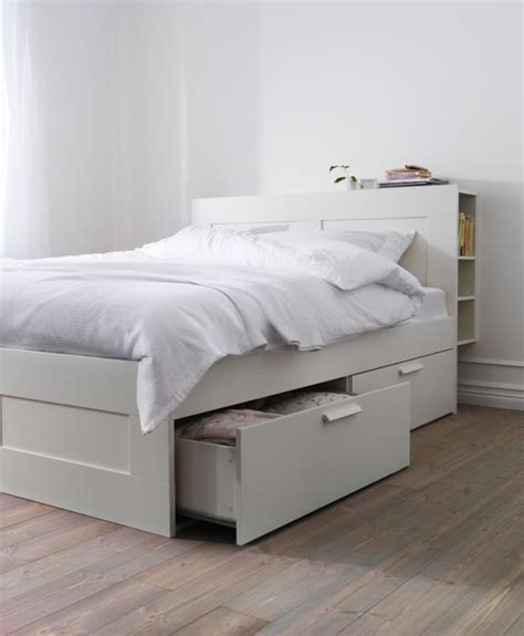 Storage Bed Ikea by Brimnes Bed Frame With Storage White Ikea Beds With