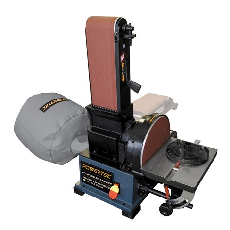 sander woodworking powertec 6 quot x 48 quot belt 9 quot disc woodworking sander