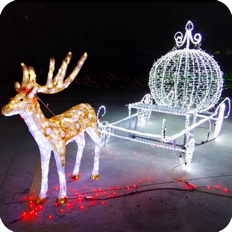 moving outdoor decorations outdoor animated lighted decorations led