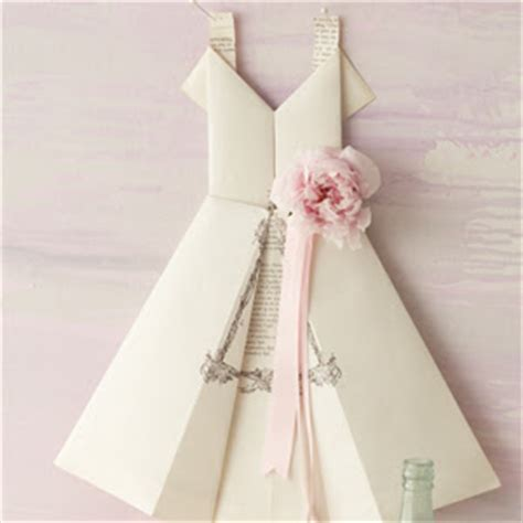 how to make origami wedding dress 12 and easy origami tutorials clementine creative