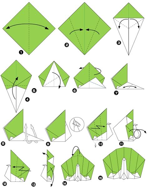 how to make origami peacock paon en origami pinteres