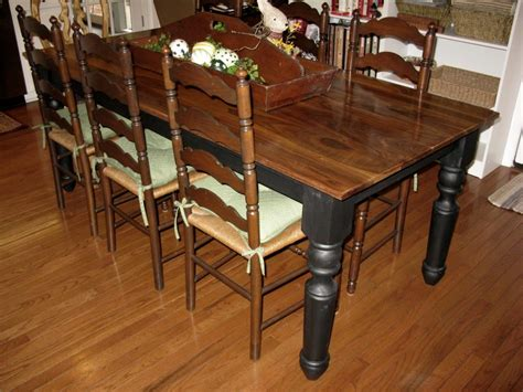 wooden dining table with white chairs furniture circular pattern wooden pedestal dining