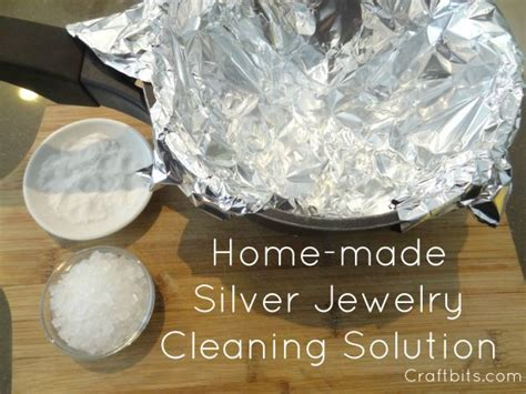 how to make jewelry cleaner for silver silver jewelry cleaner soap recipes craftbits