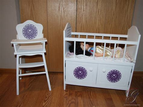 baby doll high chair and crib s craft room doll high chair and crib