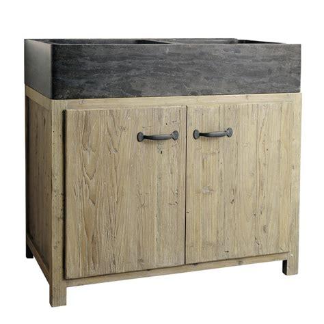 kitchen sink unit recycled pine kitchen sink unit w 90 copenhague maisons