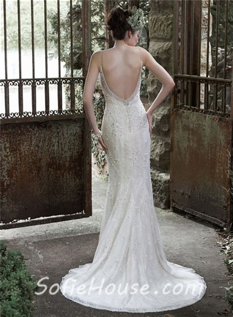 low back beaded dress fitted sweetheart low back lace pearl beaded