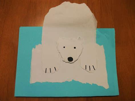 arctic crafts for polar on craft preschool crafts for