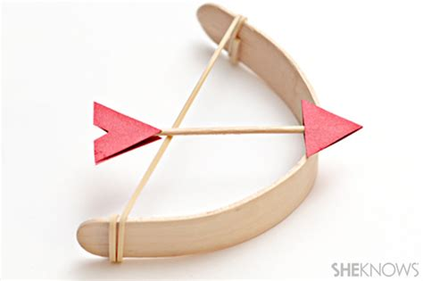 bow and arrow craft for popsicle stick crafts bow and arrow crafts
