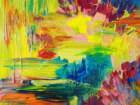 acrylic painting abstract abstract acrylic painting bright bold color 16 x 20 free