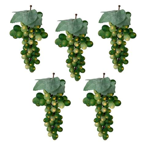 grape cluster string lights vickerman 17189 led grapes light string set