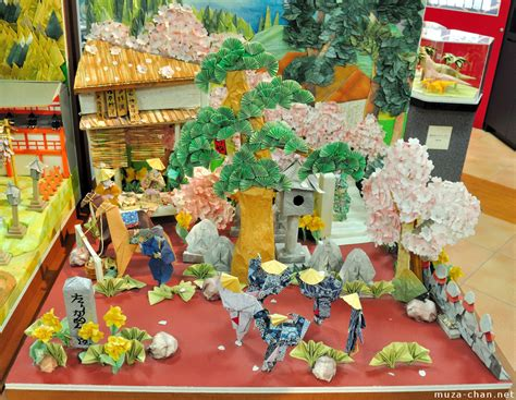 Origami Diorama Masterpieces A Great Place To See And A