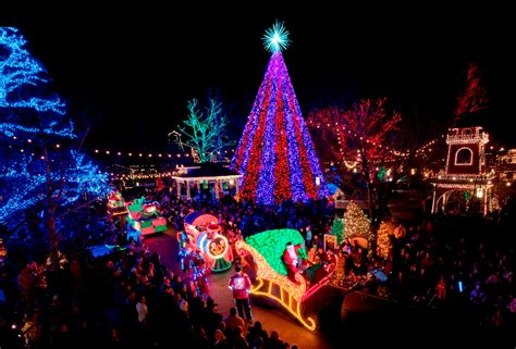 silver dollar city lights bright lights city branson s brightest season
