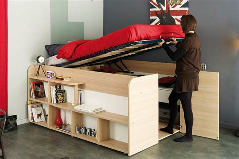 bed in closet clever bed designs with integrated storage for max efficiency