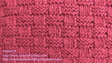 how to add stitches in knitting basket stitch free knitting tutorials knitting