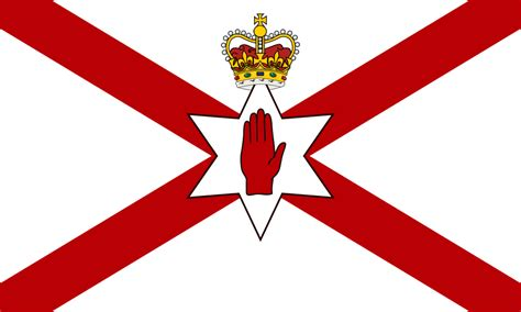 northern ireland file s flag for northern ireland crowned svg