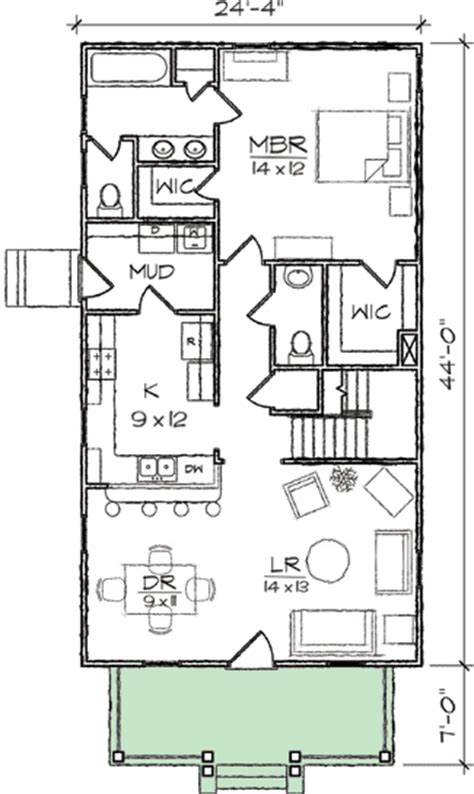 floor plans for narrow lots arts crafts narrow lot house plan 10032tt 1st floor master suite cad available cottage