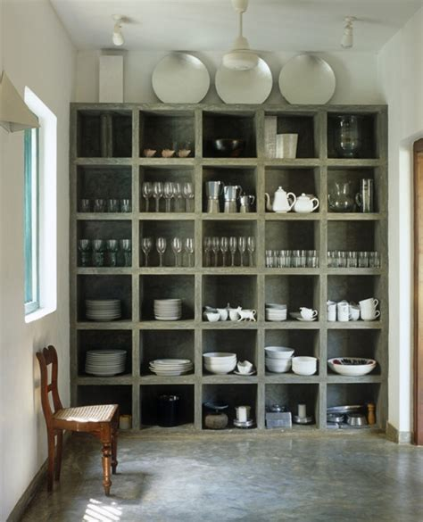 design of kitchen shelf interior design ideas 12 inviting concrete interiors