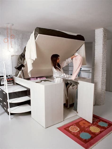 bed in closet smart bed design with closet it container