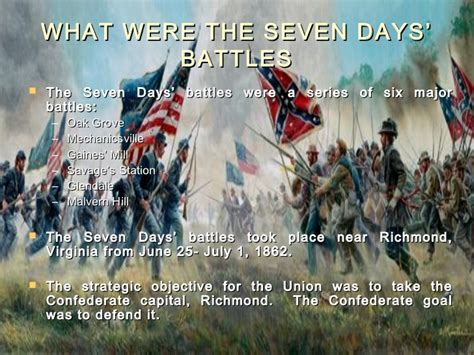 seven days the seven days battles