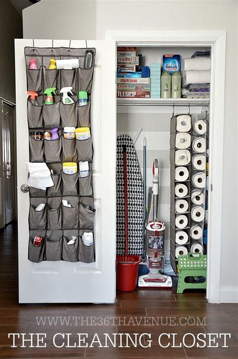 best 25 cleaning closet ideas on organizing