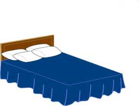 bed blue blue bed clip at clker vector clip