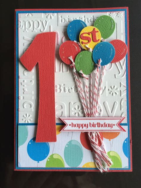 how to make a birthday card for boys 25 unique 1st birthday cards ideas on baby