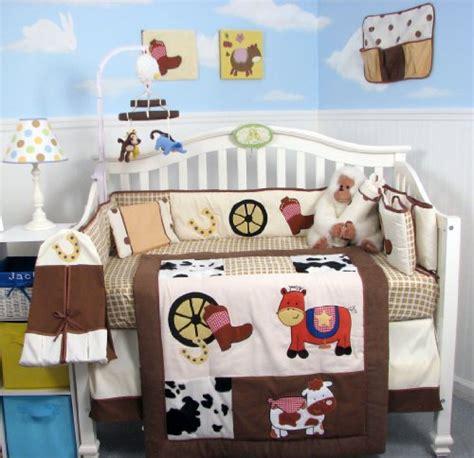 cowboy baby bedding sets soho cowboy blues baby crib nursery bedding set 14 pcs