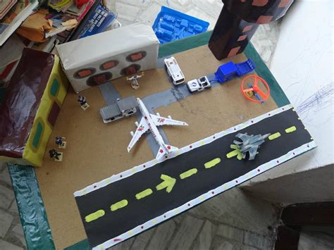 for to make at school from my building airport model not a