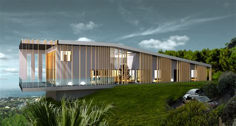 maison en bois luxe maison moderne