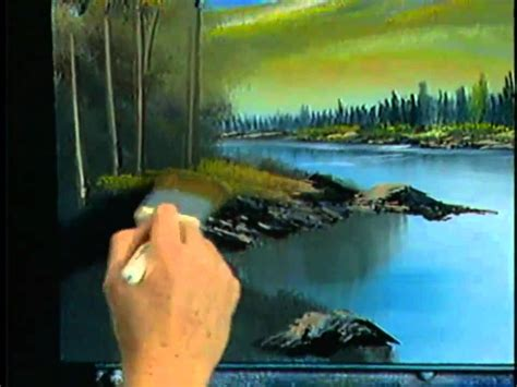 bob ross painting channel bob ross the of painting follow the lay of the land