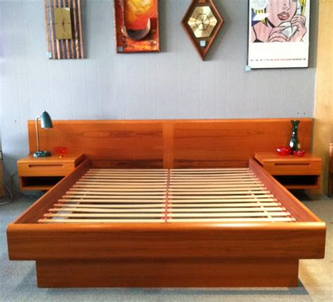building a bed frame with storage bed frame plans with storage home design ideas