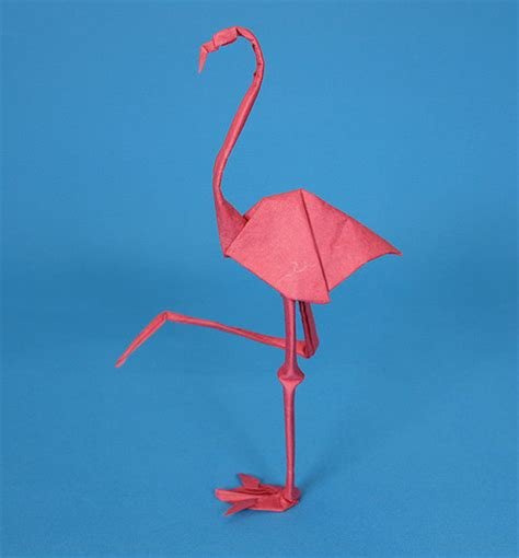 origami flamingo origami animals