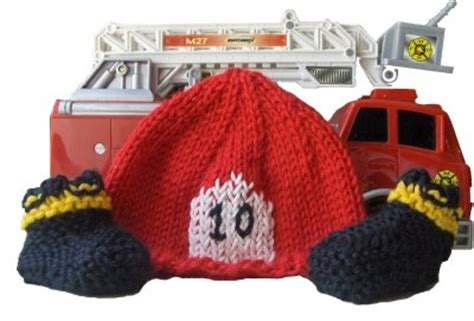 knitted fireman hat pattern knit fireman hat booties warm how to knit and need to