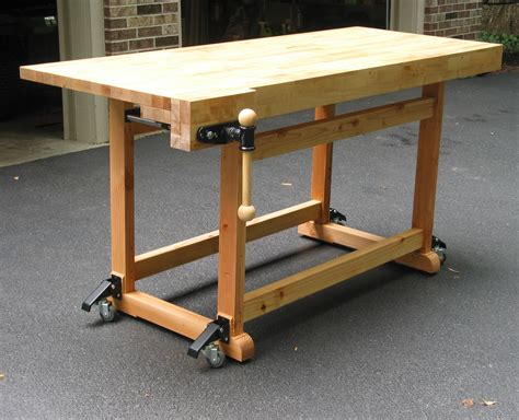 build woodworking bench build this woodworker s workbench to learn mortise tenon