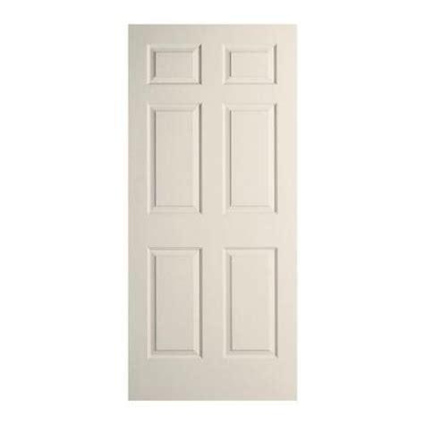 home depot interior slab doors jeld wen 30 in x 78 in woodgrain 6 panel primed molded