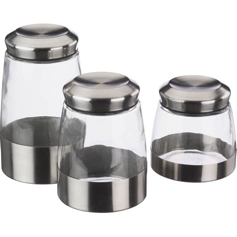 Kitchen Canister kitchen stainless steel canisters walmart com