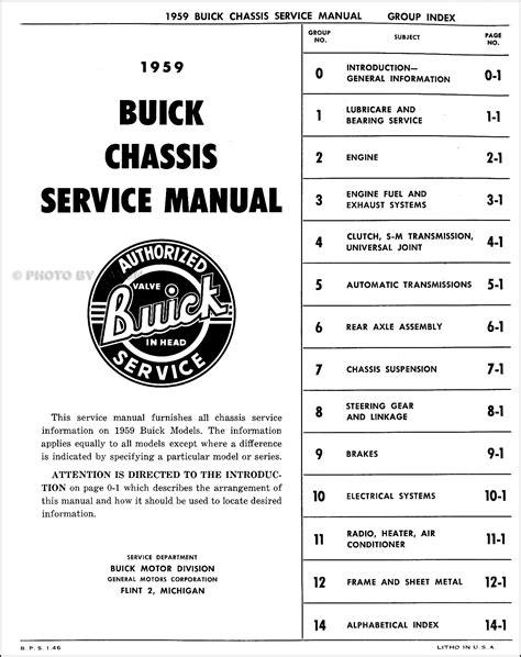 service manuals schematics 2000 buick lesabre auto manual 1959 buick shop manual original 59 lesabre invicta and electra repair service