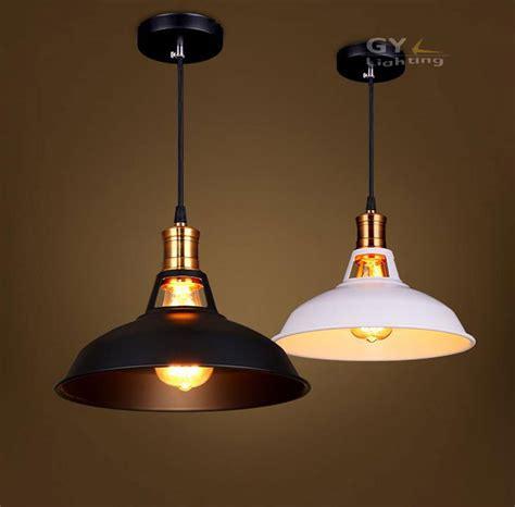pendant light length ac100 240v d28cm black or white lshade pendant lights