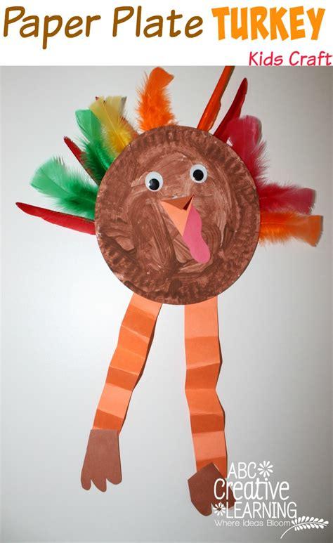 thanksgiving paper plate crafts ski tip lodge thanksgiving crafts