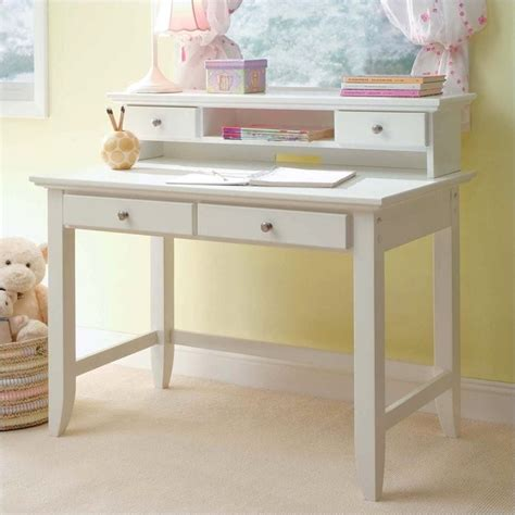 naples student desk home styles naples student desk and hutch set in white