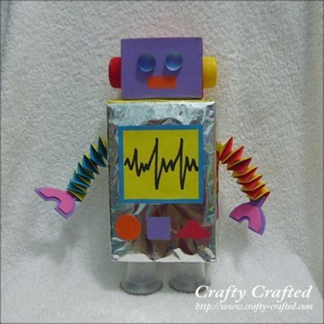 robot crafts for robot craft ideas